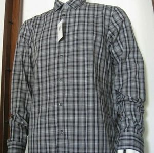 Men Michael Kors Classic Fit Long Sleeve Button
